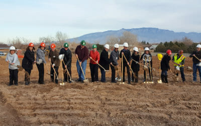 Lincoln Middle School Gym Groundbreaking